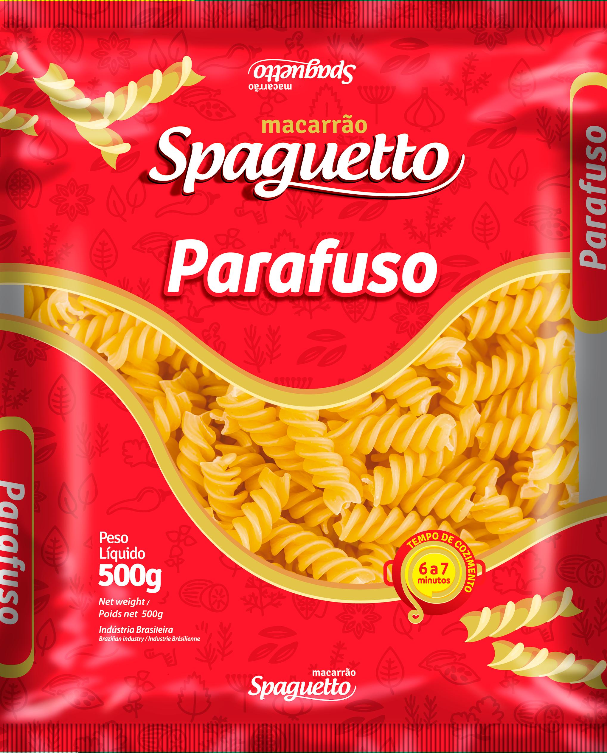 Macarrão Spaguetto Parafuso