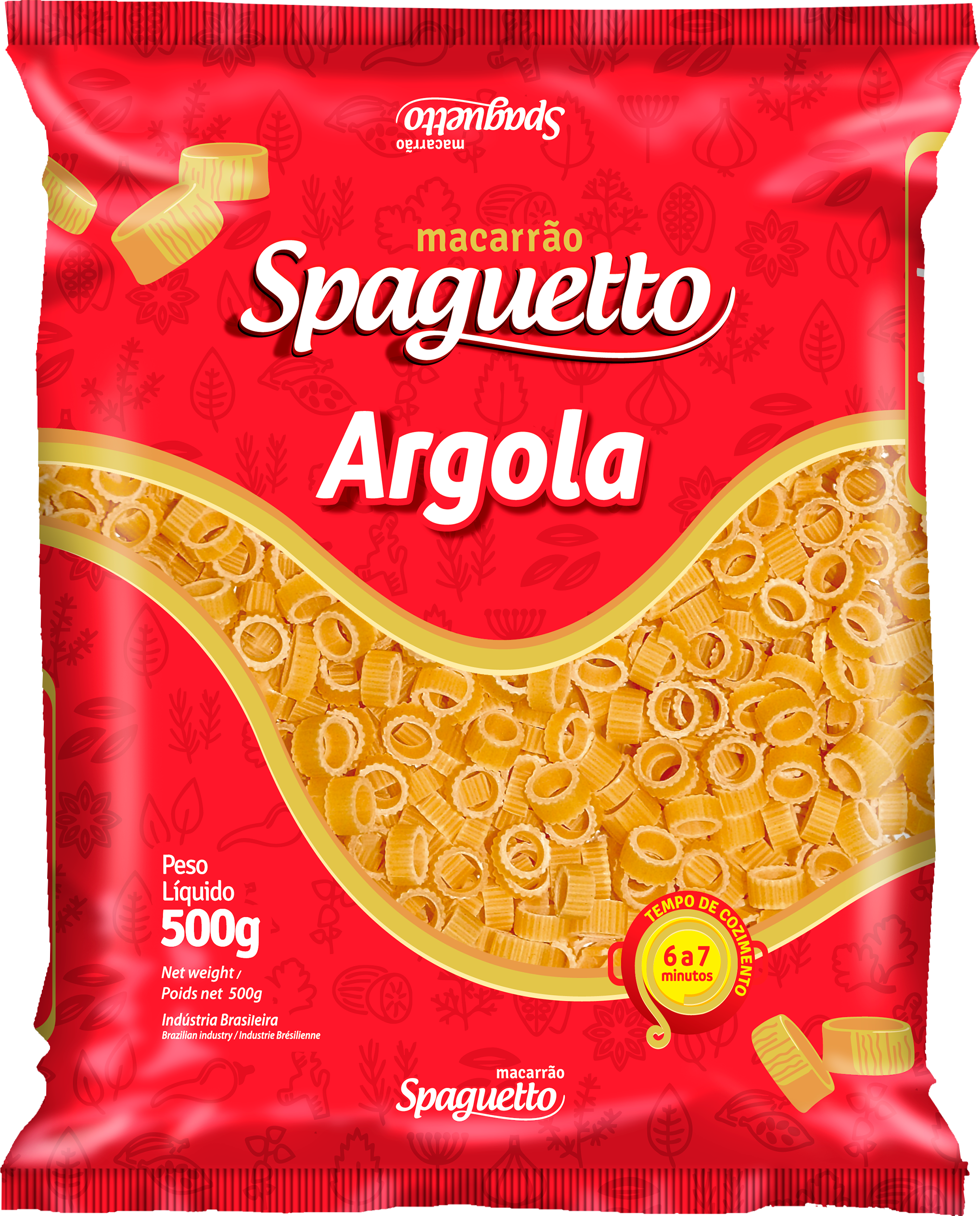Macarrão Spaguetto Argola