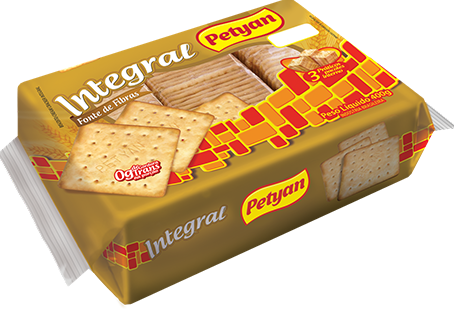 Biscoito Cream Cracker Integral