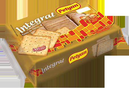 Biscoito Cream Cracker Integral