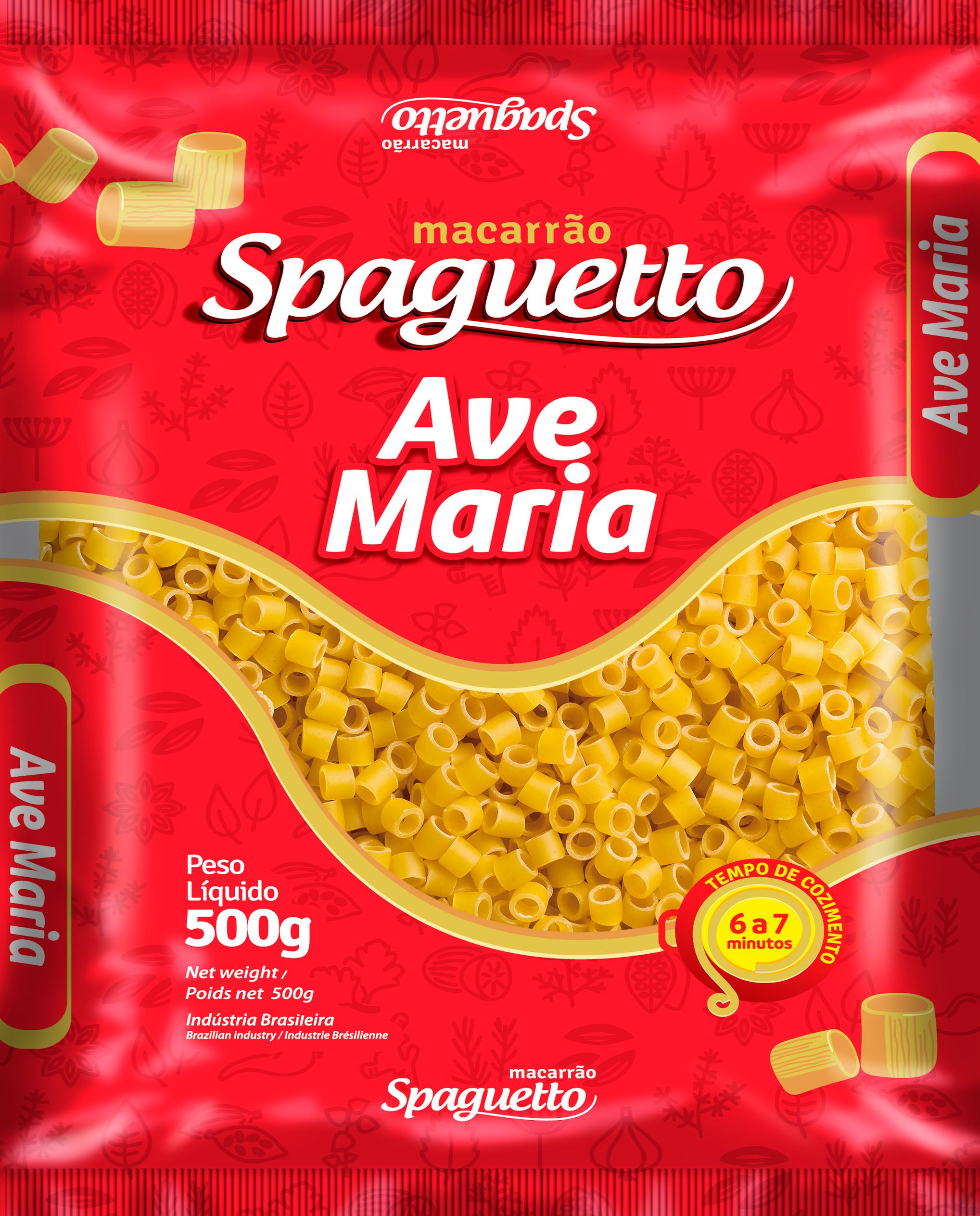 Macarrão Spaguetto Ave Maria